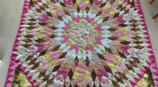 Starmania Trip Around The World quilt challenge